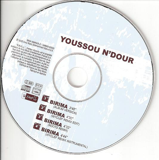 Youssou N'Dour - Birima cover of release