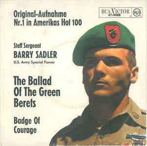 Barry Sadler - The Ballad Of The Green Berets