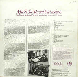 London Symphony Orchestra, The - Music For Royal Occasions