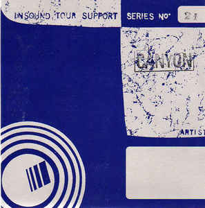 Canyon (2) - Insound Tour Support Series Vol. 21