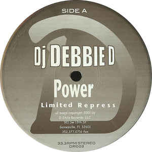 DJ Debbie D - Power