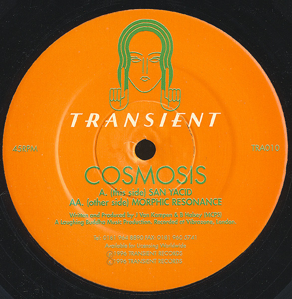Cosmosis - San Yacid / Morphic Resonance cover of release