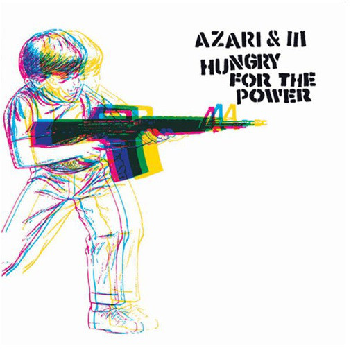 Azari & III - Hungry For The Power EP cover of release