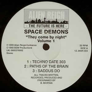 Space Demon - They Come By Night - Volume 1