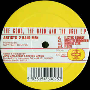 2 Bald Men - The Good, The Bald And The Ugly E.P