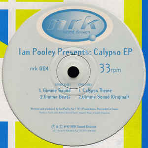 Ian Pooley - Calypso EP