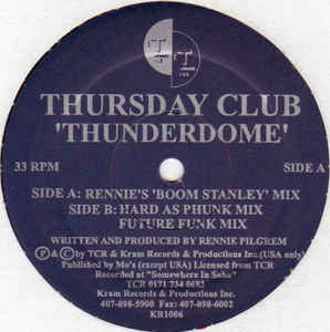 Thursday Club - Thunderdome
