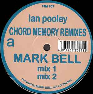 Ian Pooley - Chord Memory (Remixes)