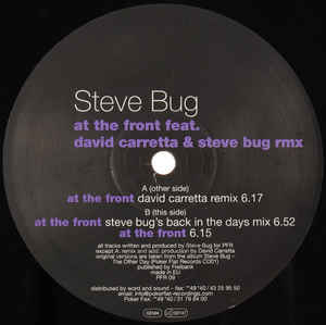 Steve Bug - At The Front