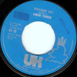 Simon Fisher Turner - Shoeshine Boy / 17