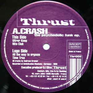 A. Crash - The Psychedelic Funk ep.