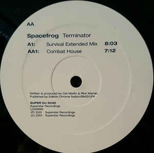 Space Frog - Terminator