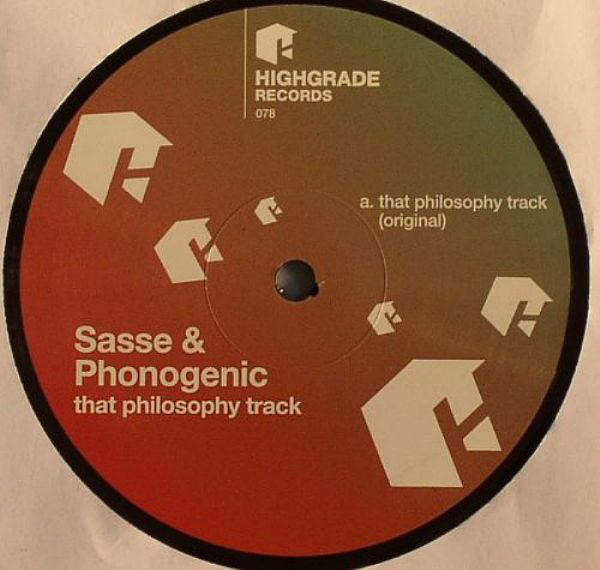 Sasse, Phonogenic - That Philosophy Track cover of release