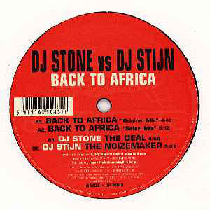 DJ Stone (2) - Back To Africa