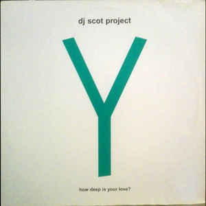 DJ Scot Project - Y (How Deep Is Your Love?)