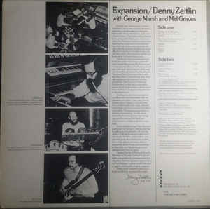 Denny Zeitlin, George Marsh, Mel Graves - Expansion cover of release