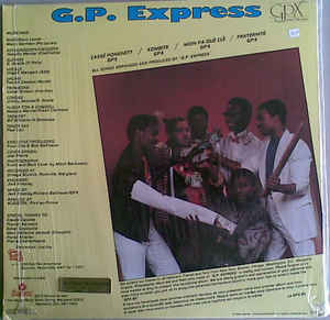 G.P. Express - Moin Pa Ouè Clè cover of release