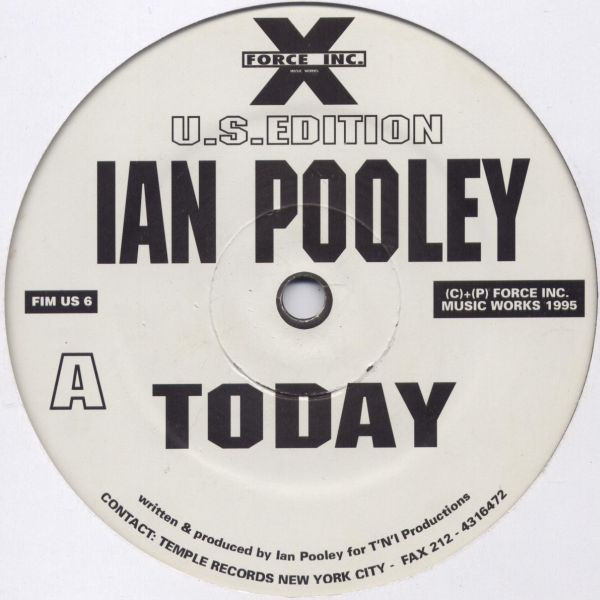 Ian Pooley - Today cover of release