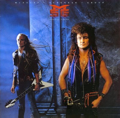 McAuley Schenker Group - Perfect Timing cover of release