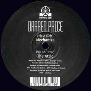 Darren Price - Mechanize / The Attic