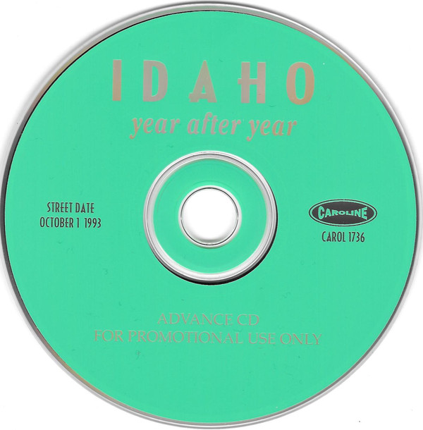 Idaho - Year After Year cover of release
