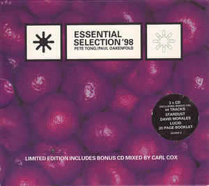 Pete Tong - Essential Selection '98