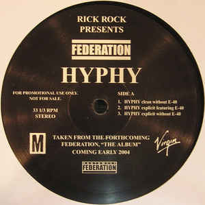 Federation - Hyphy