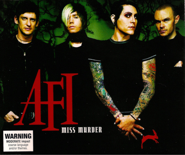 AFI - Miss Murder cover of release