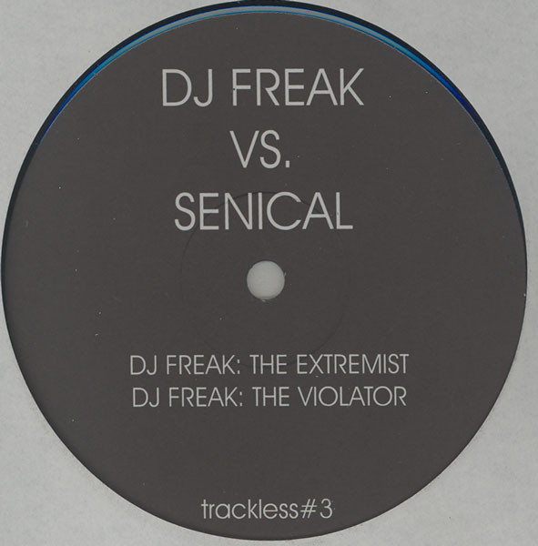 DJ Freak, Senical - Untitled cover of release