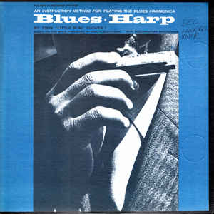 Tony Glover - Blues-Harp An Instruction Method For Playing The Blues Harmonica
