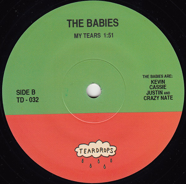 Babies, The (2) - Here Comes Trouble cover of release