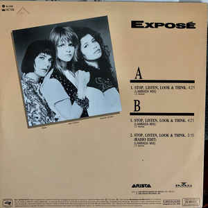 Exposé - Stop, Listen, Look & Think (Lambada Mix)