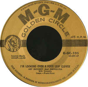 Art Mooney & His Orchestra - I'm Looking Over A Four Leaf Clover / Honey-Babe