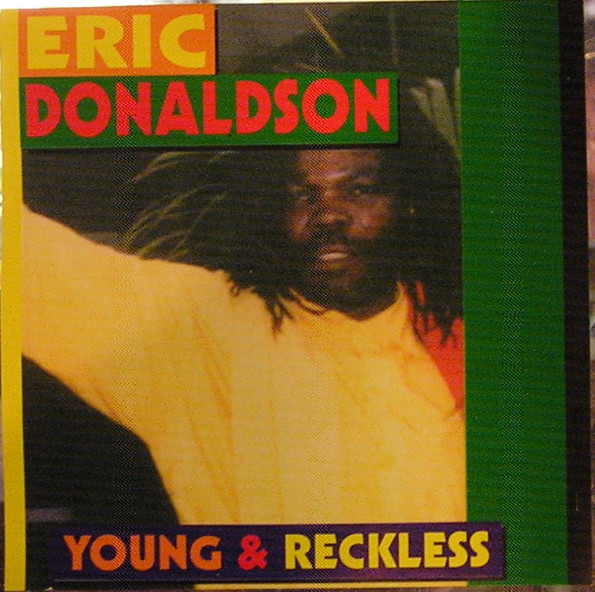 Eric Donaldson - Young & Reckless cover of release