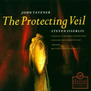 John Tavener - The Protecting Veil cover of release