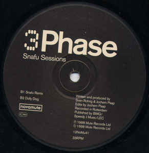 3 Phase - Snafu Sessions