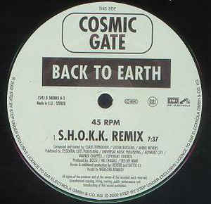 Cosmic Gate - Back To Earth / Hardcore (Part II)