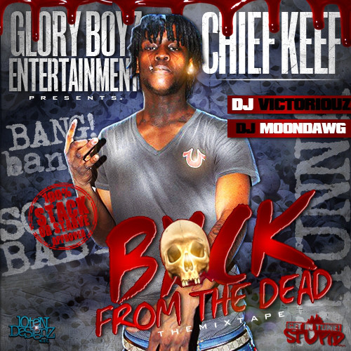 Chief Keef - Back From The Dead cover of release