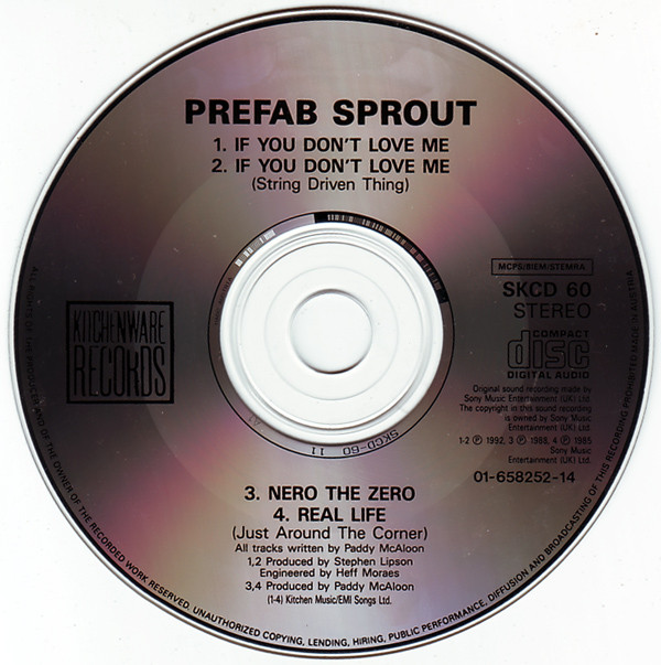 Prefab Sprout - If You Don't Love Me cover of release