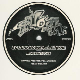 Sy & Unknown, Elaine, Sy & Unknown, Big Tone - Distant Love / Bang Da Beat cover of release