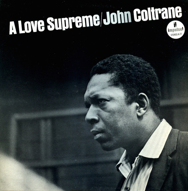 John Coltrane - A Love Supreme cover of release