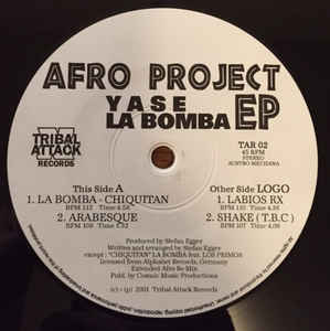 Yase - Afro Project EP