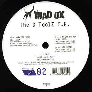 Madox - The G Toolz EP