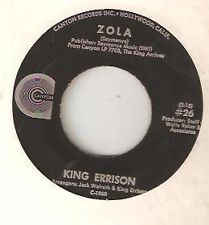 King Errisson - Zola