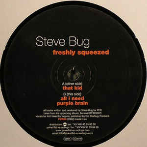 Steve Bug - Freshly Squeezed