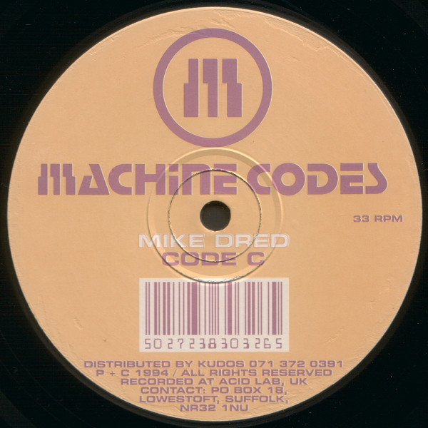 Mike Dred, Peter Green - Machine Codes Box Set cover of release