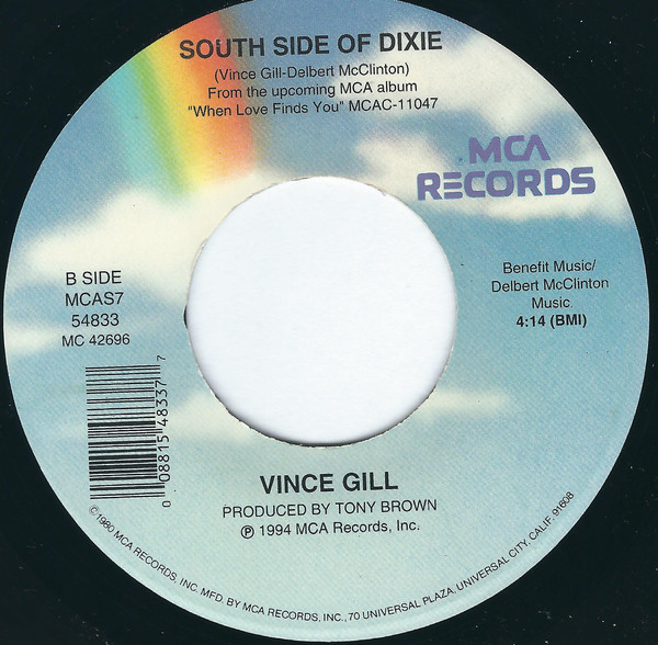 Vince Gill - Whenever You Come Around cover of release
