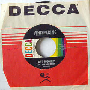 Art Mooney & His Orchestra - Teasin' / Whispering