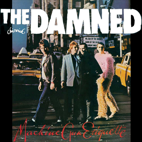 Damned, The - Machine Gun Etiquette cover of release