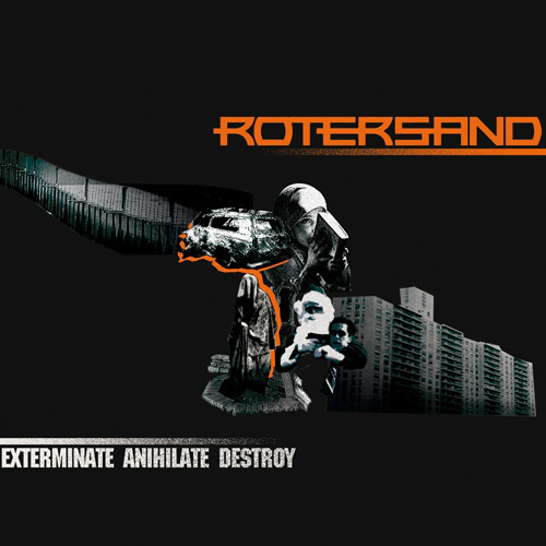 Rotersand - Exterminate Annihilate Destroy cover of release